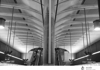 Canary Wharf Station, London, UK