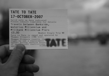 London, Tate to Tate…